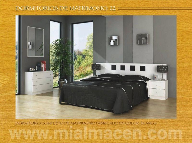 Mialmacen representaciones for Ofertas dormitorios matrimonio completos